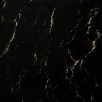 """Керамогранит К 202 60 КР черный С ЖЕЛТЫМИ РАЗВОДАМИ """"ПОД МРАМОР"""" ПОЛИР. Cimic"""