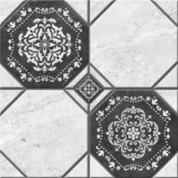 Керамогранит  черно-белый Керамин TES19799