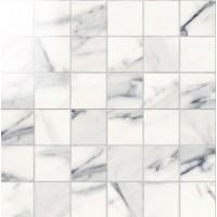 IMP885L  Mosaico 5x5 Lapp. Calacatta Bianco 30Х30 30x30