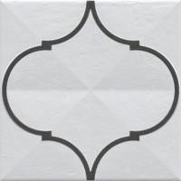 921029 Декор ETNIA OROMO GRAFITO Vives Ceramica 20x20