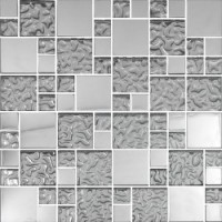 Мозаика  металлическая MDF-49