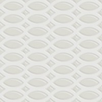 7VF08T6  Deco Dantan Tressage Blanc 20x20