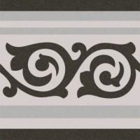 Напольная плитка ANASTASIA BORDER GREY Cas Ceramica
