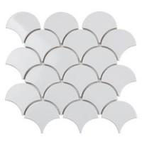 Мозаика для фартука белая TES79515 StarMosaic