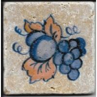 Керамогранит  с фруктами и едой Натуральный камень TES8144