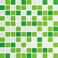 TES76819 Cristal Verde Mix 30x30