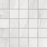 TES38673 63650 (KGEMOSR1) Geo Mosaico Bianco nat/ret 30x30