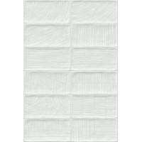 Керамическая плитка  белая под кирпич VIVES 923783