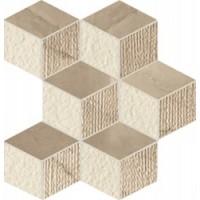 BE00RZ Rombo Bronzo Mosaico 26x38