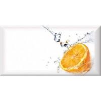 TES108050 Monocolor Decor Fresh Orange 10х20 10x20