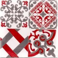 Керамическая плитка  метлахская Diffusion Ceramique TRC1515D18B