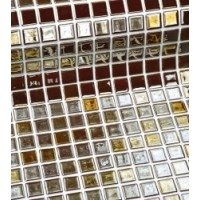 Мозаика зеркальная TES77727 Ezarri