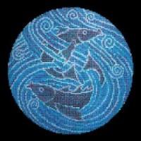 TES8916 Танец рыб 147x147