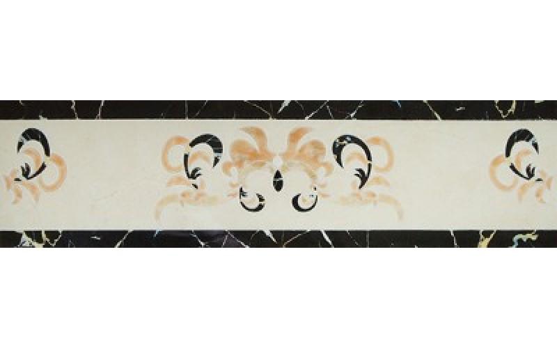 Керамогранит Castello Del Monte Cenefa Crema  15x60 Infinity Ceramic Tiles 123939