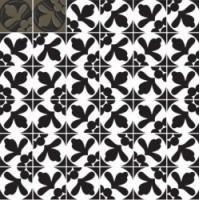 7VFSNMM  Deco Dantan Comp.Mosaico 36pz Sable-Noir 30x30