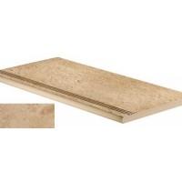 AEWJ Sunrock Bourgogne Sand Gradino Round 30x60 LASTRA 20mm