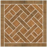 57378 Mosaico Carre Brun