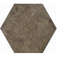 8BF8JES Apogeo14 Esagona Dark Brown L19.5 33.5x29.5