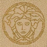 37211 COMPOSIZIONE MEDUSA ORO/NOCE/GOLD 118x8,4
