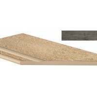 ANPU Axi Grey Timber Bordo Piscina Angolo Dx 30x60 LASTRA 20mm
