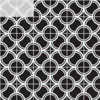 7VFBGMF Deco Dantan Comp.Mosaico 36pz Blanc-Gris 30x30