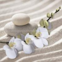 Керамическая плитка  с орхидеями Уралкерамика PWU09RLX1