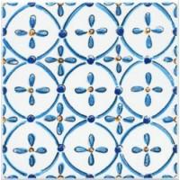 Керамическая плитка  глянцевая белая STGA4851146