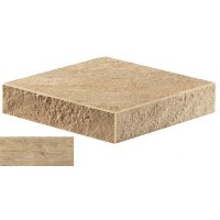 AT7S Axi Golden Oak Elemento L SP Angolare Sx 33x33 LASTRA 20mm