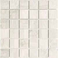 739356 Mosaico Ardoise Blanc Grip 30x30