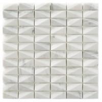 RO03MS409 Mosaico Net White 30x30