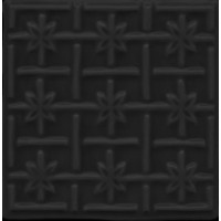 MEL1313DC16  Decor Soho Square Noir 13x13