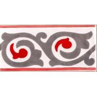 Керамическая плитка  метлахская Diffusion Ceramique TRC7515F10