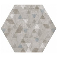 Керамогранит EQUIPE URBAN Hexagon Forest Silver (9 вариантов паттерна)