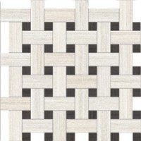 Мозаика  черно-белая Refin MF55