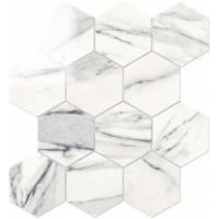 IMP883L Esagona Lapp. Calacatta Bianco 29,1x25,2