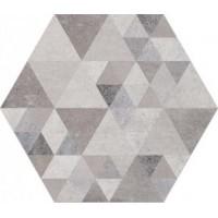 Laverton Hexagono Benenden Sombra Mix 23x26.6