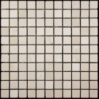 M025-25T (Crema Marfil) Мрамор 25х25 305х305