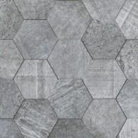 L241713831 Amsterdam 2D Hexagon Grey 19x19