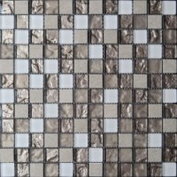 Мозаика матовая белая CLHT02 Imagine lab