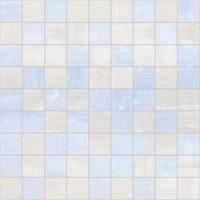 TES76933 Diadema голубой+белый 30x30