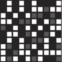 Мозаика матовая черная 756316 Rex Ceramiche
