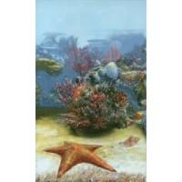 Керамическая плитка для ванной морская волна 341911/1 Кировская керамика
