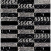 Мозаика GREEK NEGRO MARQUINA (2,3X9,8) L'Antic Colonial