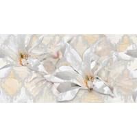 Дубай Ромбы и цветы 5 светло-бежевый 25x50