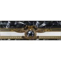 Керамическая плитка  черная под мрамор El Molino TES96606