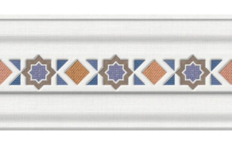 Керамическая плитка Бордюр CENEFA ALBAICIN AZUL Pamesa 15x30 Pamesa 924136