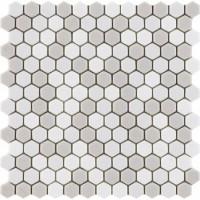 L244006781 Glaze Hexagon Beiges Matt 30,2x30