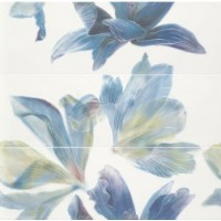 Decor set (3) Bloom Aqua/lime 84*85