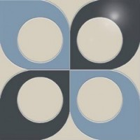 ID06  Инсбрук серо-синий полированный 42х42 42x42
