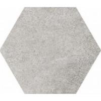22093  Hexatile Cement Grey 17,5x20 17.5x20